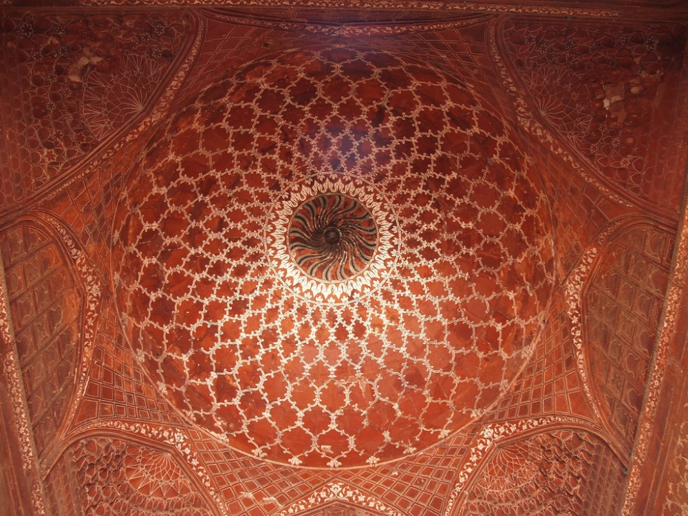 taj dome interior
